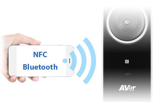 اتصال همه کاره NFC و بلوتوث دوربین کنفرانس vc320