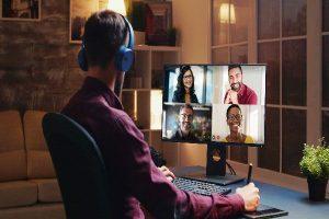 اصول ویدئو کنفرانس در دورکاری